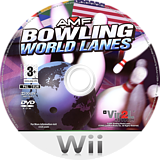 AMF Bowling World Lanes Wii disc (R6WP68)