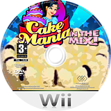 Cake Mania: In the Mix! Wii disc (R72P5G)