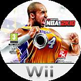 NBA 2K10 Wii disc (R76P54)