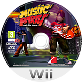 Musiic Party: Rock the House Wii disc (R7MXFR)