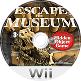 Escape The Museum Wii disc (R7SP5G)