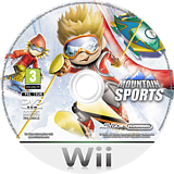 Mountain Sports Wii disc (R7WP52)