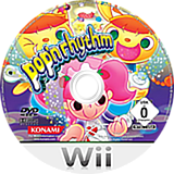 Pop'n Rhythm Wii disc (R83PA4)