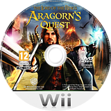 The Lord of the Rings: Aragorn's Quest Wii disc (R8JPWR)