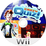 Crazy Quiz! Are You Crazy Enough? Wii disc (R8QPRT)
