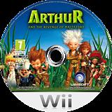 Arthur and the Revenge of Maltazard Wii disc (R8RP41)