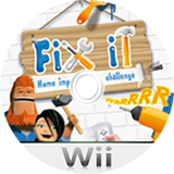 Fix It: Home Improvement Challenge Wii disc (R9EPNP)
