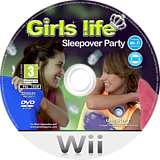 Girls Life: Sleepover Party Wii disc (R9LP41)