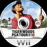 Tiger Woods PGA Tour 10 Wii disc (R9OP69)