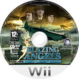 Blazing Angels: Squadrons of WWII Wii disc (RBAP41)