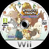 Harvest Moon: Animal Parade Wii disc (RBIP99)