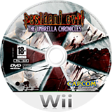 Resident Evil: The Umbrella Chronicles Wii disc (RBUP08)