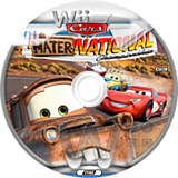 Cars: Mater-National Championship Wii disc (RC2P78)