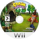 Crash: Mind Over Mutant Wii disc (RC8P7D)