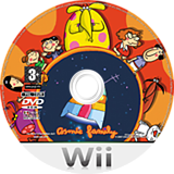 Cosmic Family Wii disc (RCFP41)