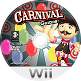 Carnival Games Wii disc (RCGP54)