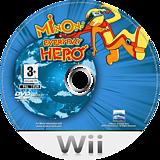 Minon: Everyday Hero Wii disc (RDMPHZ)