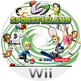 Sports Island Wii disc (RDXP18)