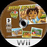 Go, Diego, Go! Safari Rescue Wii disc (REQX54)