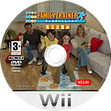 Family Trainer Wii disc (RFAPAF)