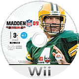 Madden NFL 09 All-Play Wii disc (RFLP69)