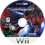 Spider-Man: Friend or Foe Wii disc (RFOX52)