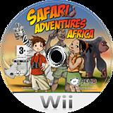 Safari Adventures Africa Wii disc (RFWPNK)