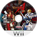 Guilty Gear XX Accent Core Wii disc (RG2PGT)