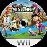 Carnival Games: Mini Golf Wii disc (RG9P54)