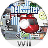 Radio Helicopter Wii disc (RGCPGT)