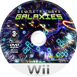 Geometry Wars: Galaxies Wii disc (RGLP7D)