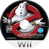 Ghostbusters: The Video Game Wii disc (RGQP70)