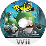Rabbids Go Home Wii disc (RGWX41)