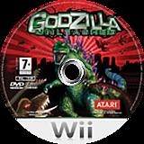 Godzilla Unleashed Wii disc (RGZP70)
