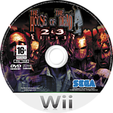 The House of the Dead 2 & 3 Return Wii disc (RHDP8P)