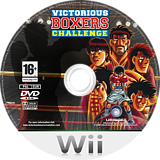 Victorious Boxers Challenge Wii disc (RHIP41)