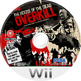 The House of the Dead: Overkill Wii disc (RHOP8P)