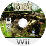 Brothers In Arms: Road To Hill 30 Wii disc (RI8P41)