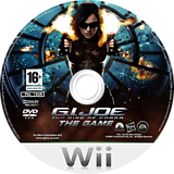 G.I. JOE: The Rise of Cobra Wii disc (RIJP69)