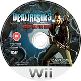Dead Rising: Chop Till You Drop Wii disc (RINP08)