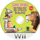 Horrible Histories: Ruthless Romans Wii disc (RIOPSU)
