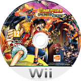 One Piece Unlimited Cruise 2: Awakening of a Hero Wii disc (RIUPAF)