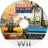 Dodge Racing: Charger vs Challenger Wii disc (RIXP7J)