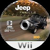Jeep Thrills Wii disc (RJ3P7J)