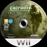 Call of Duty: Modern Warfare - Reflex Edition Wii disc (RJAP52)