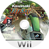 Kawasaki Jet Ski Wii disc (RJSXUG)