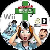 Hysteria Hospital: Emergency Ward Wii disc (RJVPGN)