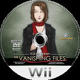 Cate West: The Vanishing Files Wii disc (RKEPGN)