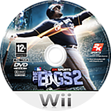 The Bigs 2: Baseball Wii disc (RKVP54)