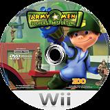 Army Men: Soldiers of Misfortune Wii disc (RKYP7J)